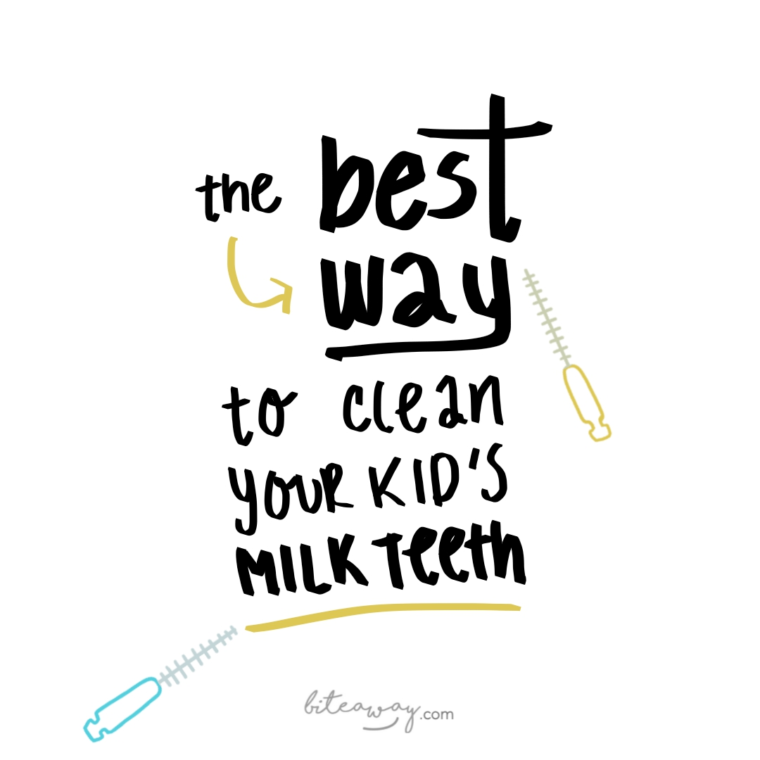 the best way to clean your milk teeth deciduous 26519